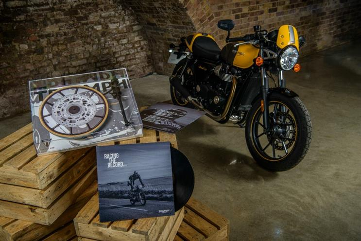 Triumph launches vinyl record and turntable with music event