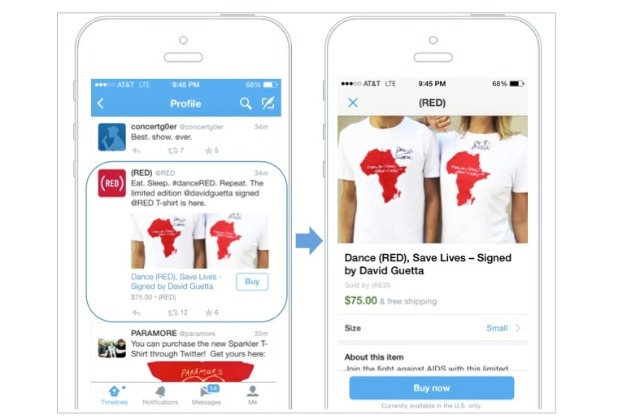 Twitter: shoppers can buy directly from tweets