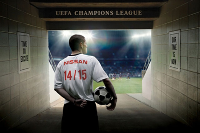 Nissan: signs four-year deal to sponsor the UEFA Champions League
