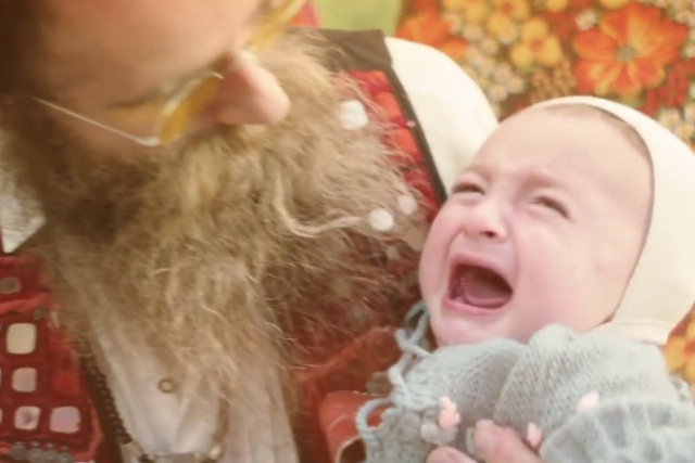 Wilkinson Sword: promotes the clean shaven look in quirky ad
