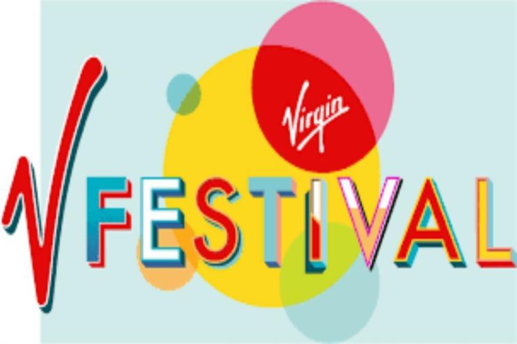 V Festival: brand activations