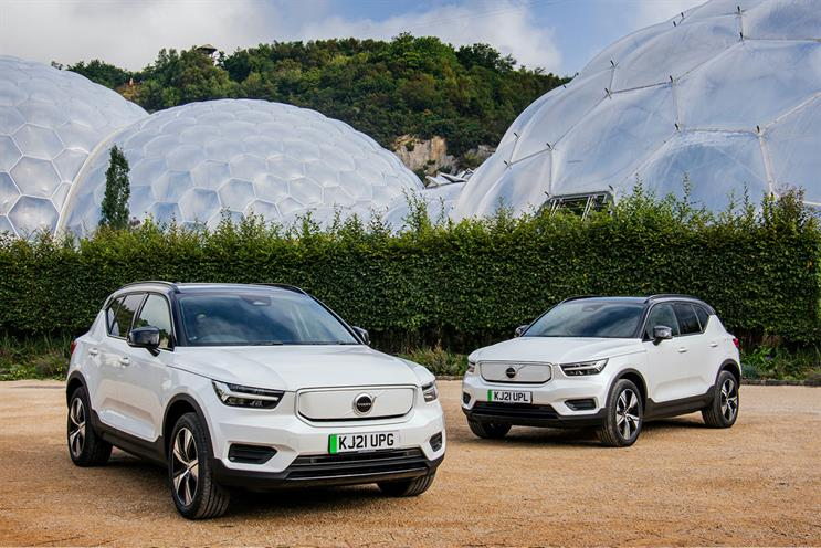 Volvo: Eden Project will be supplied with a fleet of electric vehicles