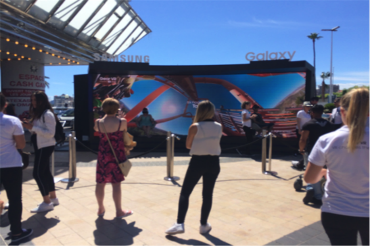 Cannes Lions Festival of Creativity: Samsung virtual reality