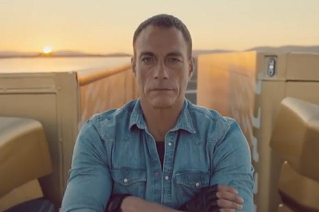 Jean Claude Van Damme: Volvo ad knocks John Lewis off the top spot