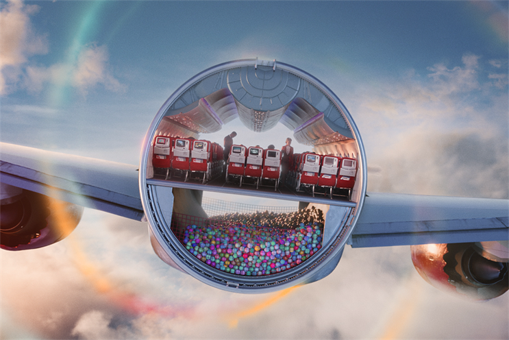 The new Virgin Atlantic and Virgin Holidays ads share surreal and fantastical elements