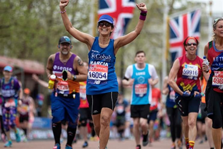 Virgin Money helps runners boost London Marathon donations