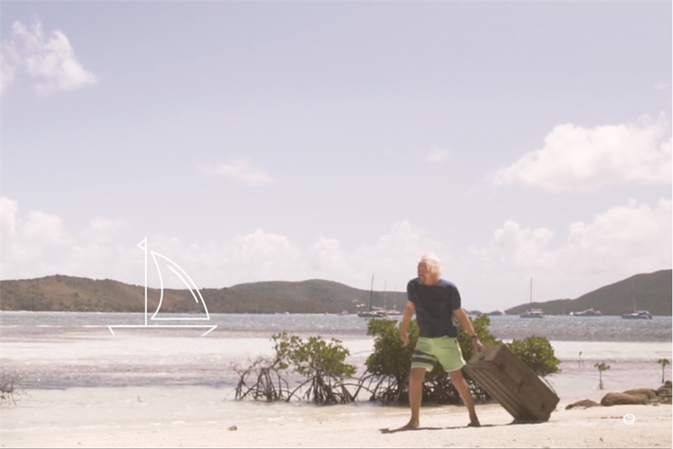 Branson will personally lead the hunt for buried treasure on Necker Island in August