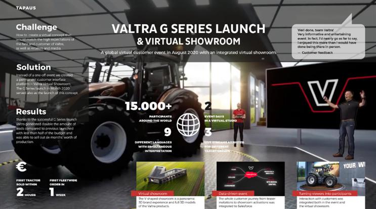 Campaign Experience Awards 2021: Virtual Experience B2B