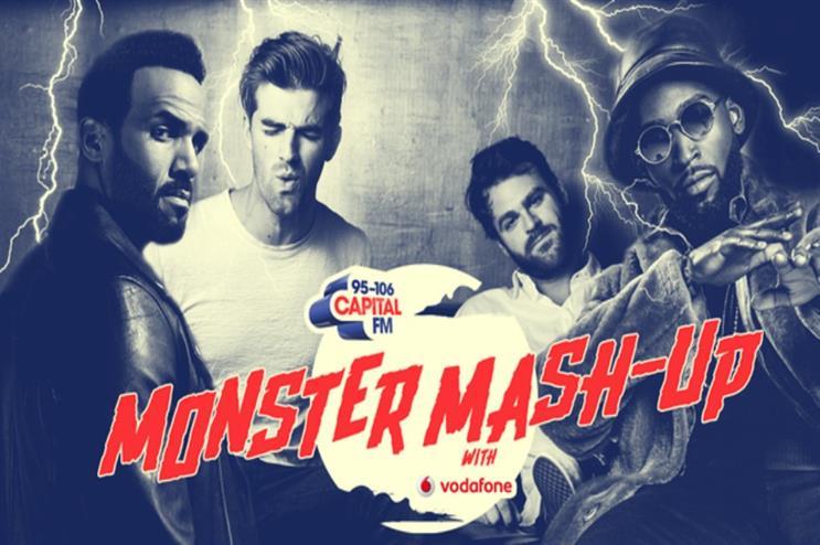 Vodafone and Capital FM: Monster Mash Up partnership