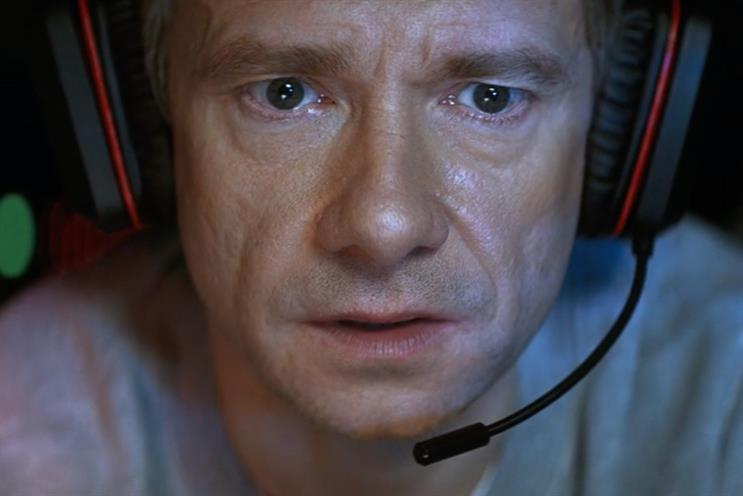 Vodafone's Martin Freeman-starring ad has been banned by the ASA