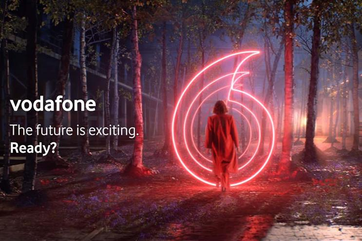 Vodafone: also works with Ogilvy