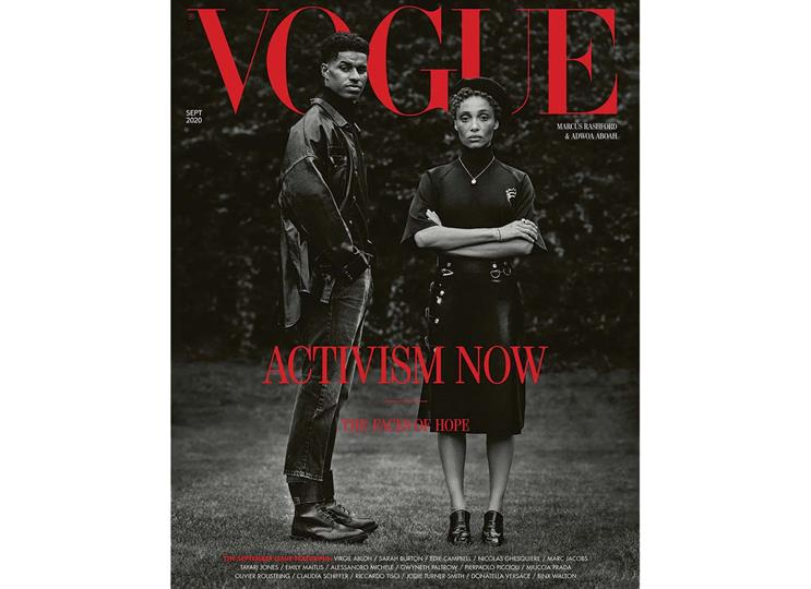 Vogue: Misan Harriman became the first black photographer to shoot a cover of British Vogue in the magazine's 104-year history