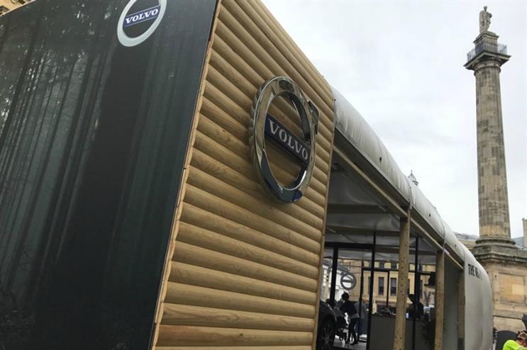 Volvo brings Scandinavian sanctuary to UK cities