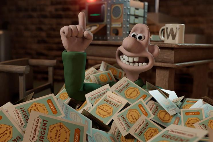 Wallace & Gromit: players will be employees at Wallace's business