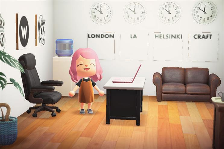 Waste: replica of its office appears in game