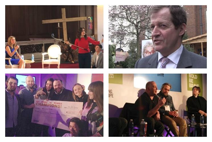 Find out what's happened on day one of Ad Week Europe 2015