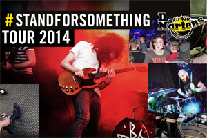 Music fans to see bands up close on Dr Martens European tour