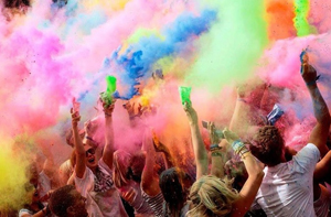 Holi One promotional staff will be provided by Kru Live