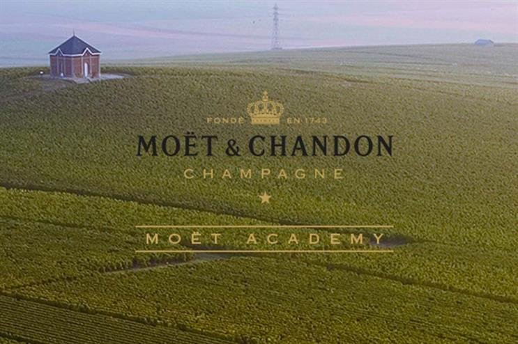 Moët & Chandon's pop-up academy to educate London consumers