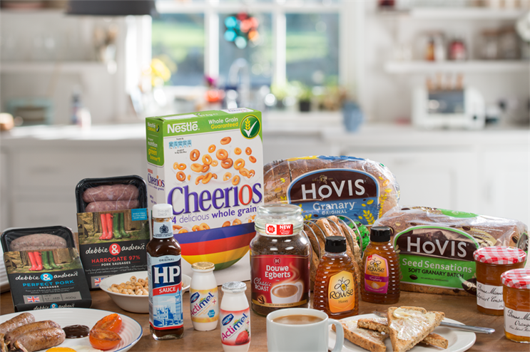 Hovis, HP and Nestlé among brands featuring in the A Better Breakfast campaign