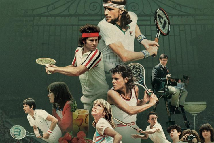 Wimbledon: reimagining the 1980 championships