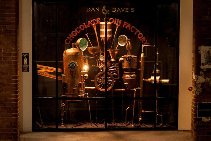 Dan & Dave's Chocolate Factory: collects money for charity
