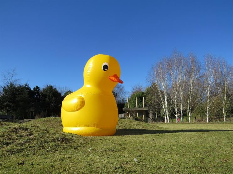 WWT London Wetland Centre is hosting a Giant Easter Duck Hunt over the weekend