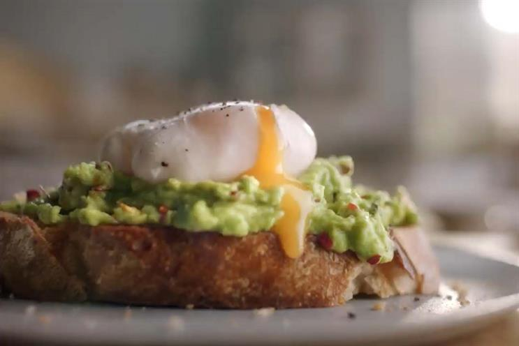 Waitrose: ads profile products including eggs, sourdough, olive oil and mango