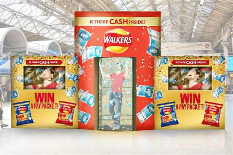 Walkers to launch Cash Dash event in London