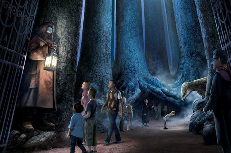 Harry Potter studio tour will feature the Forbidden Forest from March