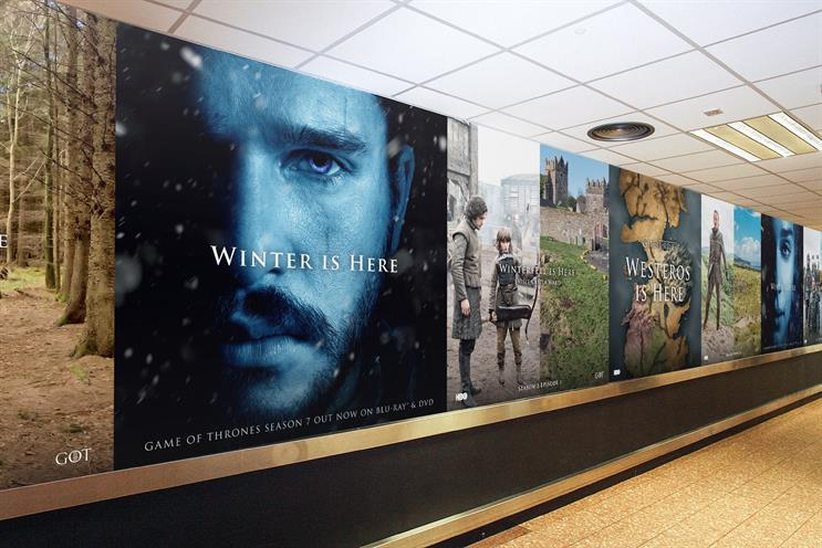 HBO turns Belfast International Airport into Westeros Airport