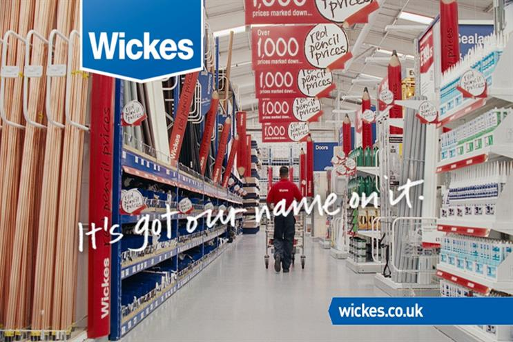 Wickes: Iris beat McCann, VCCP and the incumbent, MWO