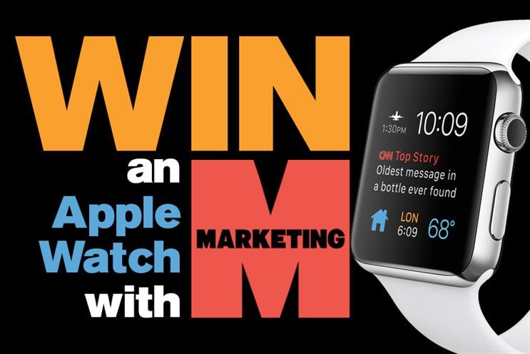 Apple Watch: win an Apple Watch in Marketing's competition