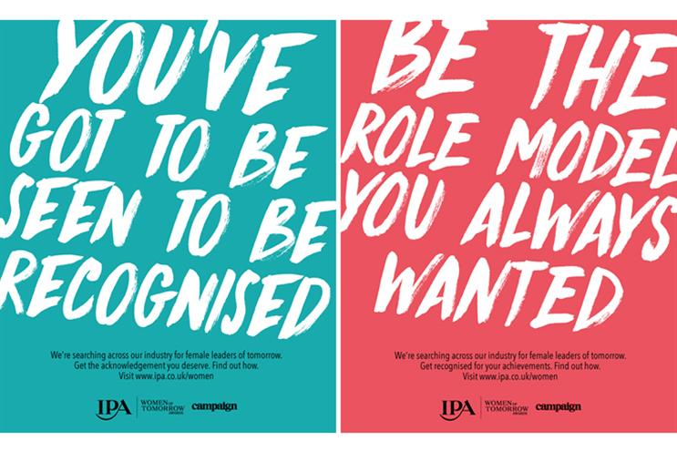 Marketers shine light on gender imbalance for Women of Tomorrow Awards