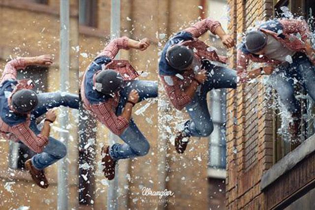 Wrangler: 'stunt' by Fred & Farid Paris