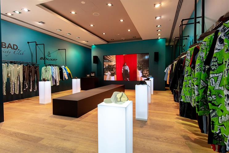 YouTube: activation includes collections from six fashion brands