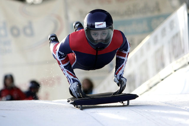 Lizzy Yarnold: she won gold at Sochi and became a social media winner too