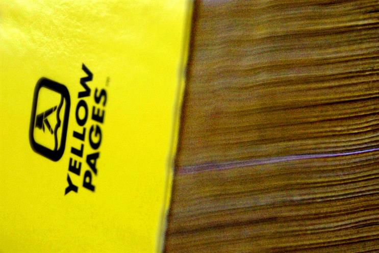 Yellow Pages: its value has plunged since 2007, which the company attributes to the global downturn