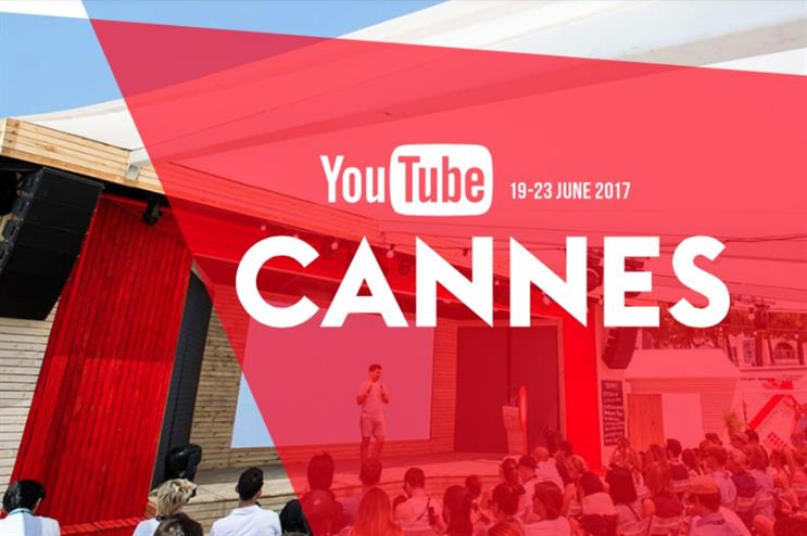 YouTube to stage beach-themed activation at Cannes Lions Festival