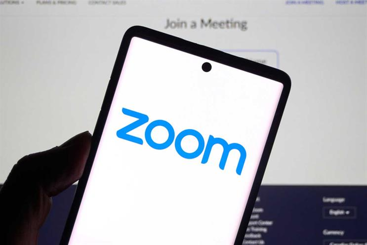 Zoom: surged in popularity since lockdown