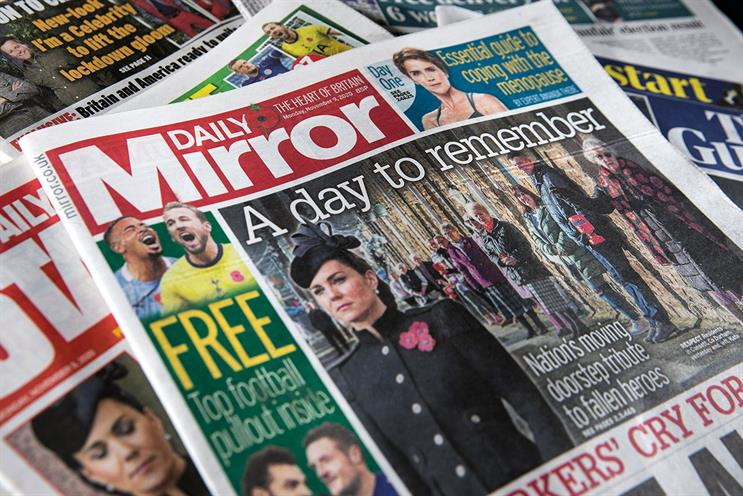 Reach publications include the Daily Mirror and Daily Star [picture: Colin Stout]