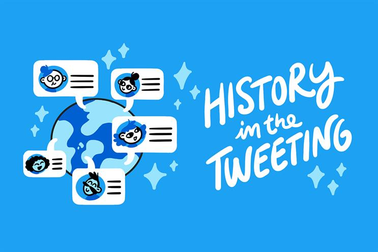 Looking back to look ahead — History in the Tweeting