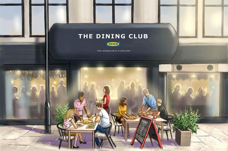 A CGI of how The Dining Club will look