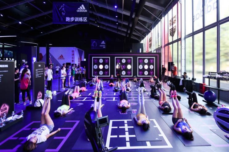 Adidas: hosting month-long sports activity hub in Shanghai