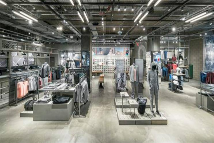 Adidas' concept store in New York