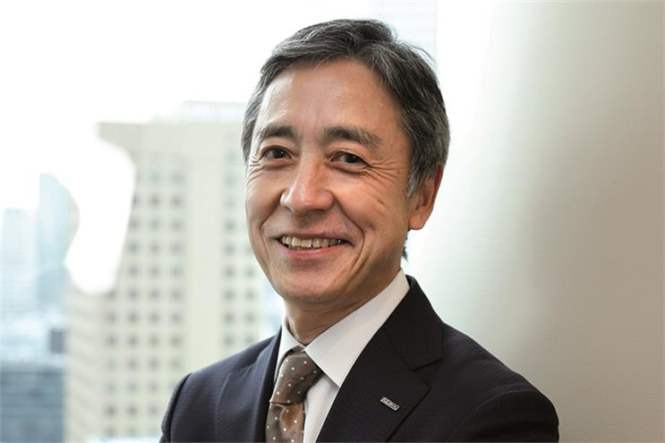 ADK's president and chief executive Shinichi Ueno