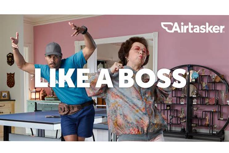 Airtasker's 'Like a boss' campaign