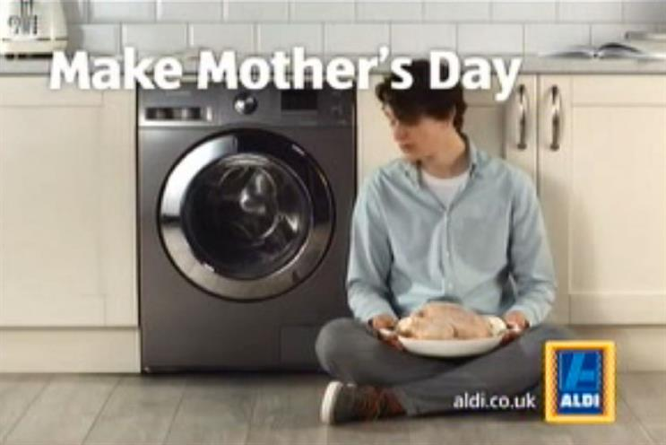 Aldi: traditional cooking for Mother's ay