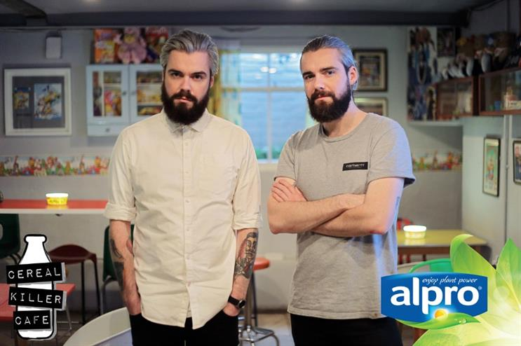 Alan and Gary Keery, founders of Cereal Killer