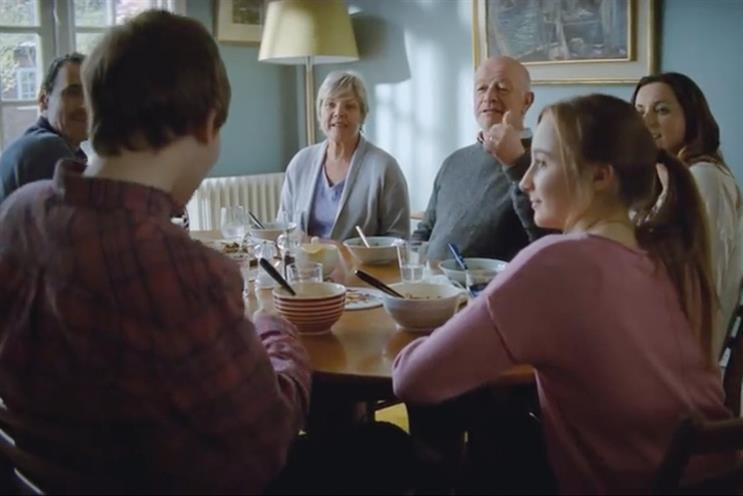 Alzheimer's Society: previously used two media agencies